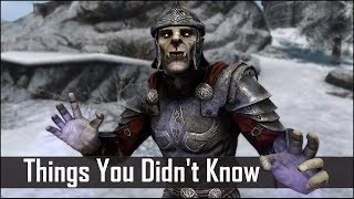 Skyrim: 5 Things You Probably Didn't Know You Could Do - The Elder Scrolls 5: Secrets (Part 15)