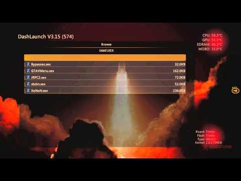 Beginners guide to using XeXMenu 1.2 and Dash Launch!