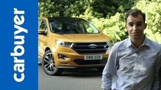 Ford Edge SUV review 2016 (re-upload) – Carbuyer