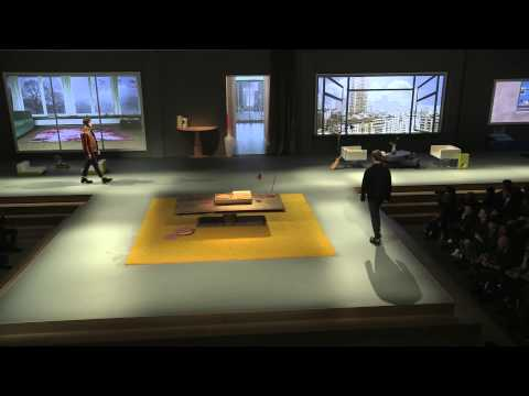 PRADA FALL/WINTER 2013 MENSWEAR SHOW INSTRUMENTAL VERSION
