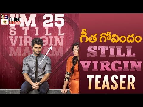 Vijay Deverakonda STILL VIRGIN TEASER | Geetha Govindam Movie | Rashmika Mandanna | Gopi Sundar