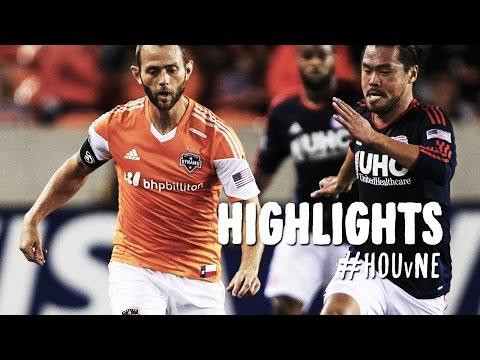 HIGHLIGHTS: Houston Dynamo vs. New England Revolution   October 16, 2014