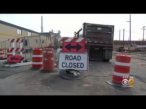 LIRR Construction Along Busy New Hyde Park Road Frustrating Residents, Commuters