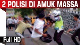 2 Polisi Diamuk Massa Di Medan Karena Hajar Sopir Angkot 1080p HD