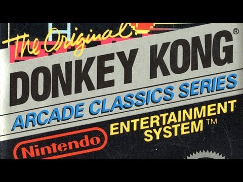 Classic Game Room - DONKEY KONG review for NES