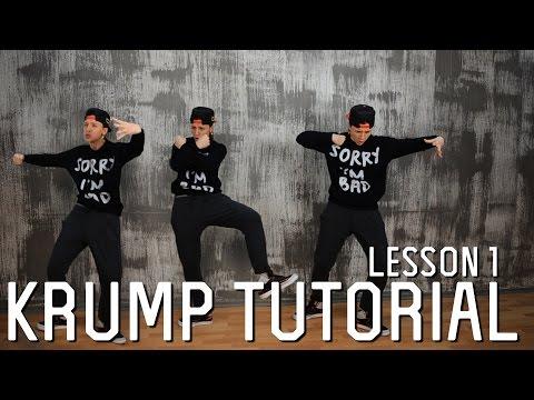 Krump Tutorials | Lesson 1 - Stomp