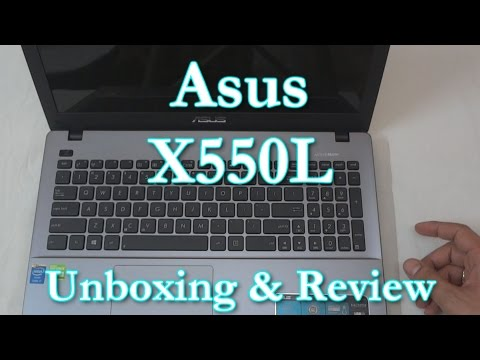 Asus X550LD Laptop Unboxing & Hands-on Review Specs: i7-4500U. 8GB RAM. 2GB Nvidia 820M GPU