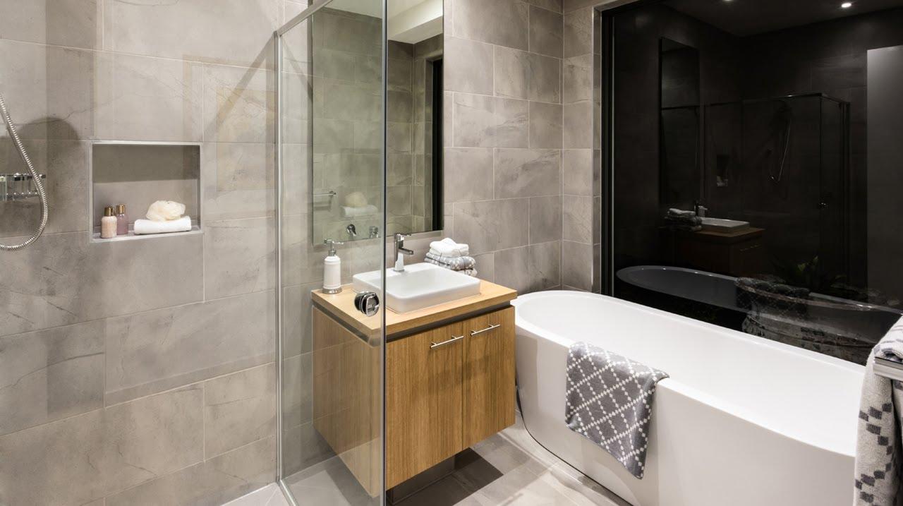 Installing bathroom vanity