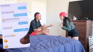 WHY DID YOU CHEAT ON ME!? PRANK ON GIRLFRIEND!!