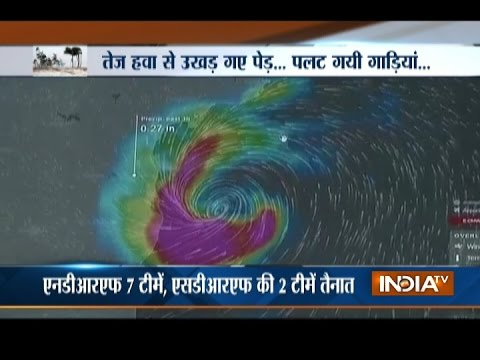 Cyclone Vardah makes landfall in Chennai, 2 people dead; NDRF warns people to stay indoors