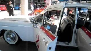 Ghostbusters Ecto-1 Car Sema Show Walkaround