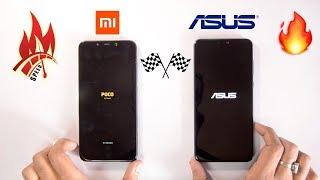 Asus Zenfone Max Pro M2 vs Poco F1 - Speedtest Comparison & RAM Management 🔥