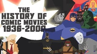 The History of Superhero Comic Movies Part 1 - 1936-2000 HD