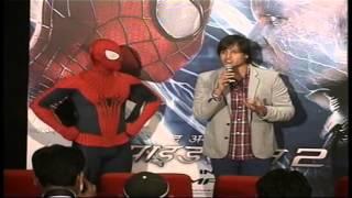 Vivek Oberoi  @ special Amazing Spiderman 2  Hollywood
