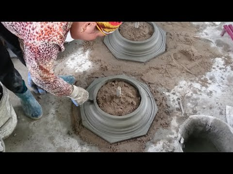 How To Build Home Foot Detail With Cement And Sand