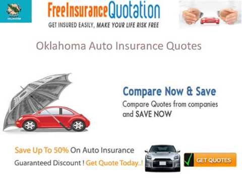 Cheap Oklahoma Auto Insurance