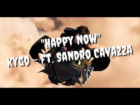 Kygo - Happy Now ft. Sandro Cavazza (Official lyric) [Deks Musik Version] MP3