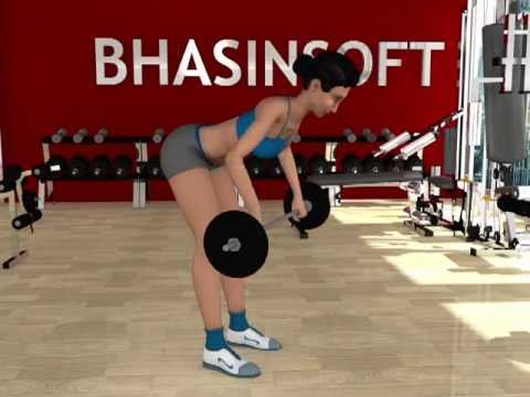 Personal Trainer : Weight Training - Bent Over Row Image 1