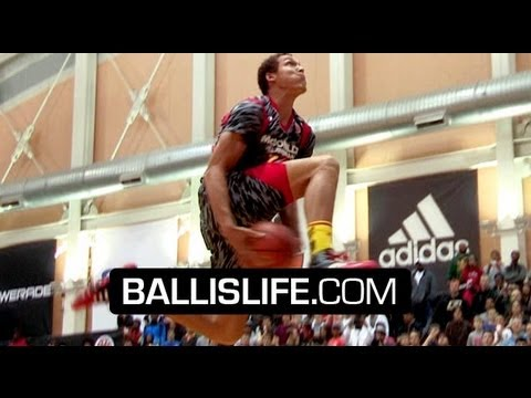 The BEST High School Dunk Contest EVER!? Andrew Wiggins, Aaron Gordon & Chris Walker SHUT IT DOWN!!