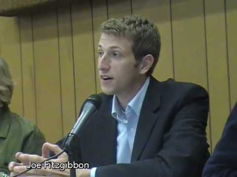 Joe Fitzgibbon at 34th District State House Pos. 2 candidate forum