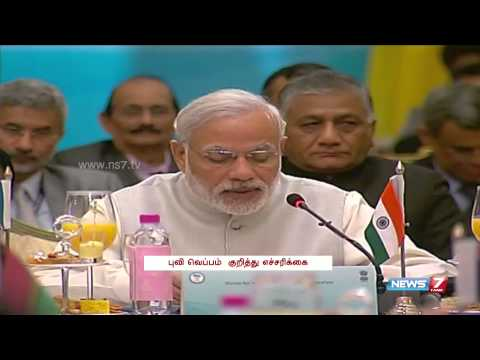PM Modi offers solar power to Pacific island nations during summit | India | News7 Tamil