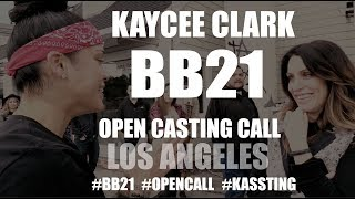 Kaycee Clark Big Brother 21 Open Casting Calls in Los Angeles #BB21