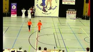 Madita Pilgram & Niklas Pilgram - Landesmeisterschaft Bayern 2015