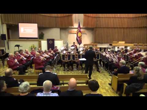 Saturday Night Concert Part 1 - International Staff Band Visit to Staple Hill