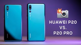 Huawei P20 vs Huawei P20 Pro Camera Comparison!