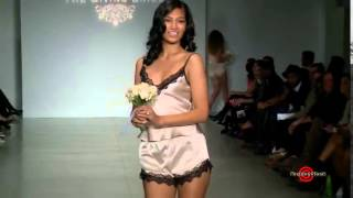 The Giving Bride Sexy Lingerie Fashion Runway Show With Hot Models NY SS15 2 Min Preview