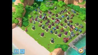 Boom Beach — How to play without boost on 1200 vps with hz/rmz