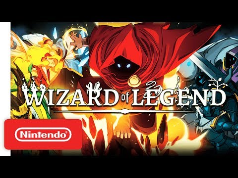 "Wizard of Legend Co-op Spell Slinging Trailer - Nintendo Switchâ""¢"