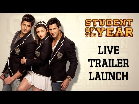 Student Of The Year - Trailer Launch - Live From Pvr Juhu, Mumbai video