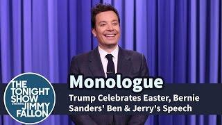 Trump Celebrates Easter, Bernie Sanders