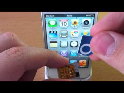 iPhone 4S Unlock 5.0.1 5.1 Gevey Ultra S *Deutsch*