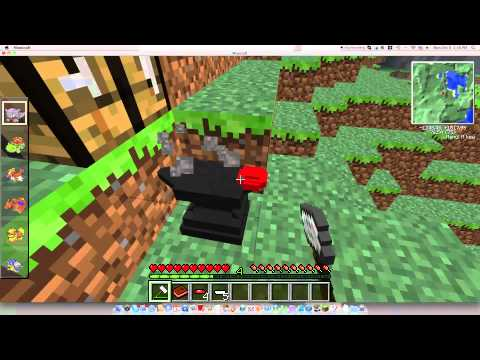 Pixelmon-How to craft a pokeball