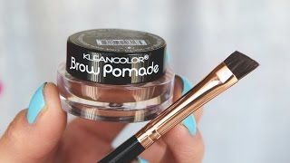 Brow pomade Kleancolor|RESEÑA
