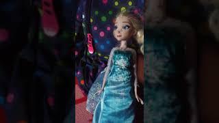 Elsa tells Barbie Adventures In The Sea