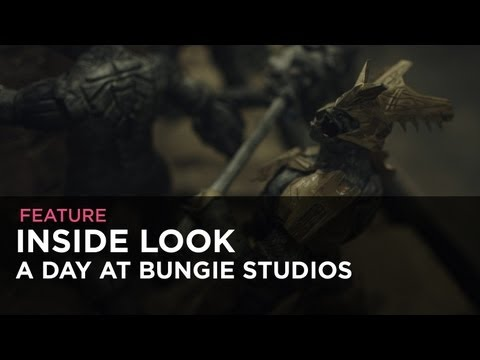 Inside Look -  A Day At Bungie Studios