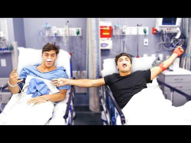 Ethan and Grayson AFTER SURGERY thumbnail