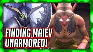 WOW Legion 🌟 Finding Maiev with Her Brother's Help, Also Her Face & Body Revealed