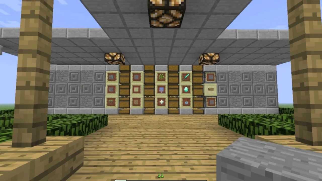 Storage System Design Minecraft