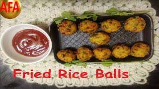 Deep-Fried Crispy Rice Balls Recipe!! Try It!!