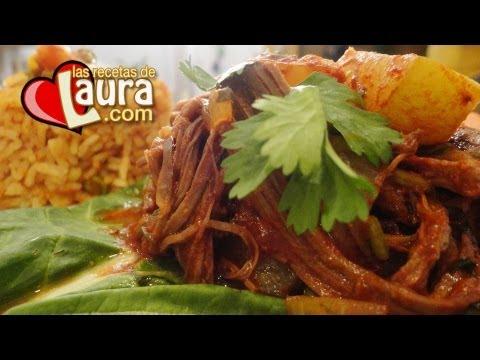 Guisado de Carne de Res para Tamales Rojos♥Relleno para Tamales de Carne♥Res en Chile Colorado