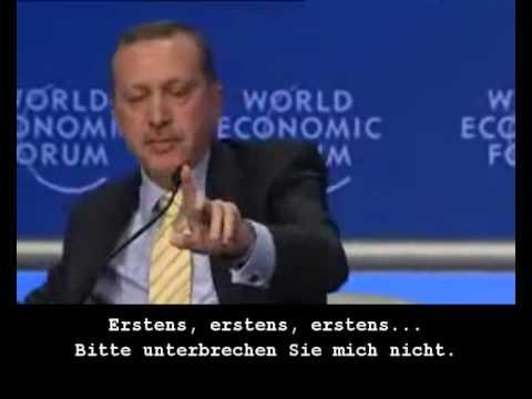 Recep Tayyip Erdogan DAVOS bewegende Worte (deutsch untertitel) FREE PALÄSTINA