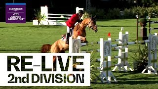 RE-LIVE | Longines FEI Jumping Nations Cup™ | Divison 2 | Qualification 2nd Round