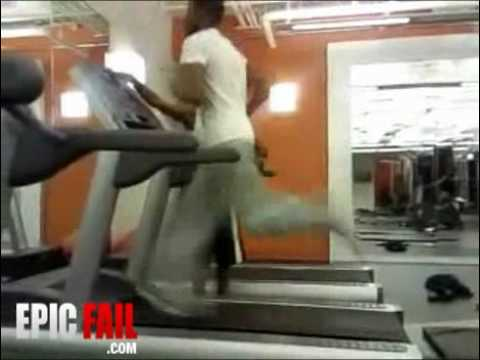 Treadmill Stunt Fail