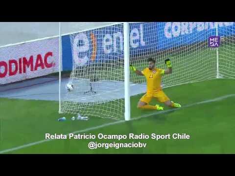 Amistoso 2015 Chile 3-2 Paraguay (Patricio Ocampo Radio Sport Chile)