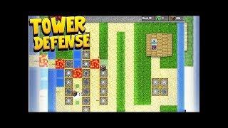 *GUASS RIFLE TURRET MOD* MINECRAFT TOWER DEFENSE  - MINECRAFT MODDED MINIGAME