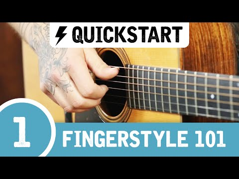 Tony's Beginner Fingerstyle Guitar Lesson ➊